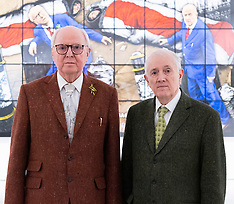Gilbert & George White Cube 12th April 2021