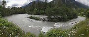 The Elwha River inside the Olympic National Park. (Steve Ringman / The Seattle Times)