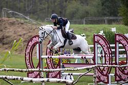Boon Marthe, BEL, Adriaan van de Claevervallei<br /> Nationaal Kampioenschap LRV Ponies <br /> Lummen 2020<br /> © Hippo Foto - Dirk Caremans<br /> 27/09/2020