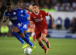Liverpool's Philippe Coutinho during the Carabao Cup, third round match at the King Power Stadium, Leicester.
