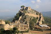Castle of Xàtiva or Jativa, Valencia province, Spain