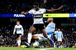 Ryan Sessegnon of Fulham takes on Danilo of Manchester City - Mandatory by-line: Robbie Stephenson/JMP - 01/11/2018 - FOOTBALL - Etihad Stadium - Manchester, England - Manchester City v Fulham - Carabao Cup