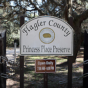 Princess Place Preserve along the Heritage Crossroads Scenic Highway in Bunnell, Florida. (AP Photo/Alex Menendez) Florida scenic highway photos from the State of Florida. Florida scenic images of the Sunshine State.