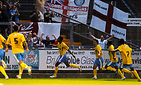 Photo: Richard Lane.<br />Bristol Rovers v Wycombe Wanderers. Coca Cola League 2. 08/08/2006. <br />Wycombe's Kevin Betsy celebrates his goal.