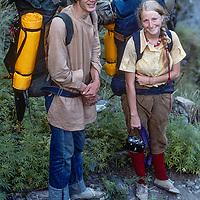 Gordon & Meredith Wiltsie on their honeymoon trekking around Annapurna in Nepal.