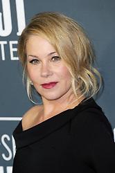 Christina Applegate at the 25th Annual Critics' Choice Awards held at the Barker Hangar in Santa Monica, USA on January 12, 2020.