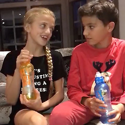 """Katie Price releases a photo on Instagram with the following caption: """"Here's Princess and Junior enjoying their @hey_like_wow. Check out their exclusive 6 pack range by searching 'heylikewow' on Amazon.co.uk. 250ml multipacks for \u00a36.85 \u0026 500ml multipacks for \u00a38.94 \ud83d\ude0a\ud83c\udf4b\ud83c\udf4f\ud83c\udf50\ud83c\udf4e\ud83c\udf47\ud83c\udf4a\ud83c\udf4d"""". Photo Credit: Instagram *** No USA Distribution *** For Editorial Use Only *** Not to be Published in Books or Photo Books ***  Please note: Fees charged by the agency are for the agency's services only, and do not, nor are they intended to, convey to the user any ownership of Copyright or License in the material. The agency does not claim any ownership including but not limited to Copyright or License in the attached material. By publishing this material you expressly agree to indemnify and to hold the agency and its directors, shareholders and employees harmless from any loss, claims, damages, demands, expenses (including legal fees), or any causes of action or allegation against the agency arising out of or connected in any way with publication of the material."""