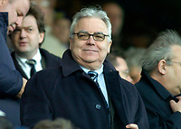 Photo: Gareth Davies.<br /> Portsmouth v Everton. The Barclays Premiership. 09/12/2006.<br /> Everton Chairman Bill Kenwright watches in the stands.