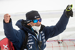 Jure Hafnar Hefo during 2nd Run of Ladies' Giant Slalom at 57th Golden Fox event at Audi FIS Ski World Cup 2020/21, on January 17, 2021 in Podkoren, Kranjska Gora, Slovenia. Photo by Vid Ponikvar / Sportida