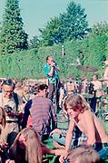 Rainier Beer Sunbust, rock festival at Washington Park ampitheater, September 11, 1971. Paul deLay