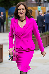 © Licensed to London News Pictures  . 03/10/2017 . Manchester , UK . THERESA VILLIERS on day three of the Conservative Party Conference at the Manchester Central Convention Centre . Photo credit : Joel Goodman/LNP