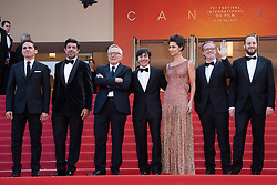 The cast and crew of the film attending the Il Traditore Premiere as part of the 72nd Cannes International Film Festival in Cannes, France on May 23, 2019. Photo by Aurore Marechal/ABACAPRESS.COM