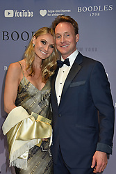 Piers Beckwith and  Jessica Cummings at the Boodles Boxing Ball, in association with Argentex and YouTube in Support of Hope and Homes for Children at Old Billingsgate London, United Kingdom - 7 Jun 2019 Photo Dominic O'Neil