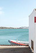 Cagliari, the headquarter of Luna Rossa sailing team by Prada
