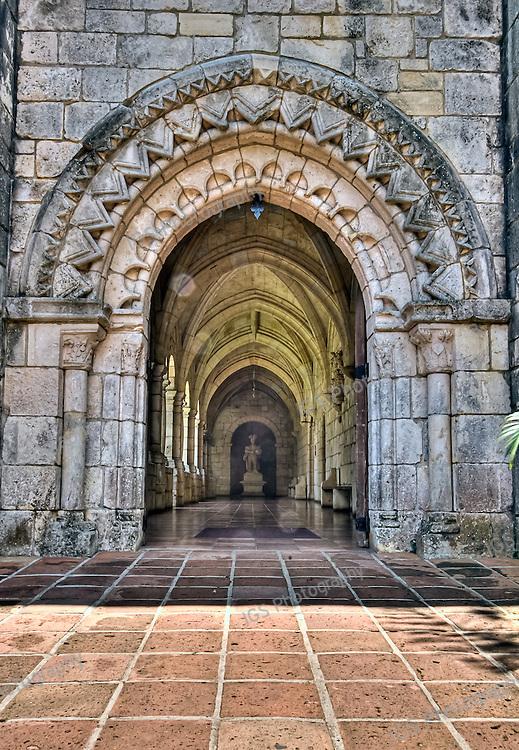 Spanish Monastery Entrance
