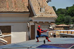 Spiderman Homecoming Photocall In Rome. 20 Jun 2017 Pictured: Spiderman Homecoming Photocall In Rome. Photo credit: Pongo / MEGA TheMegaAgency.com +1 888 505 6342