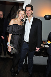 MARLON ABELA and his wife he is founder of Morton's and MARC group at a dinner for the Serpentine Gallery's Council held at Morton's, Berkeley Square, London on 5th December 2011.