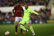 Brighton striker Jiri Skalak (38) during the Sky Bet Championship match between Nottingham Forest and Brighton and Hove Albion at the City Ground, Nottingham, England on 11 April 2016.