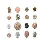 I spend hours picking up stones on cobble beaches, admiring the patterns, looking for stripes, feeling the difference between coarse- and fine-grained granite, and trying to imagine the geological processes and depth of time require to produce them.