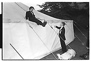 JOHNNY HADDOCK, New College Ball. June 1983