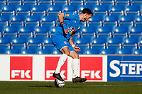 Liam Hogan. Stockport County FC 2-0 Chesterfield FC. Vanarama National League. 27.2.21 Edgeley Park.