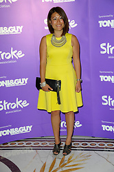 "Image ©Licensed to i-Images Picture Agency. 12/06/2014. London, United Kingdom. Ping Coombes attends the ""Life after Stroke Awards"", held at the Dorchester Hotel, Park Lane. Picture by Chris Joseph / i-Images"