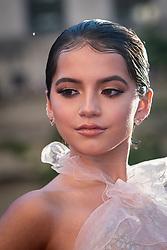 Isabela Moner attends the US Premier of 'Transformers: The Last Knight' on the Chicago River in front of the Civic Opera House on Tuesday June 20, 2017 in Chicago, IL. Photo: Christopher Dilts / Sipa USA *** Please Use Credit from Credit Field ***