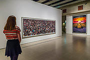May day and Pyongyang VI - Andreas Gursky a new exhibiition. The Hayward Gallery reopens on the Southbank after a major refurbishment.