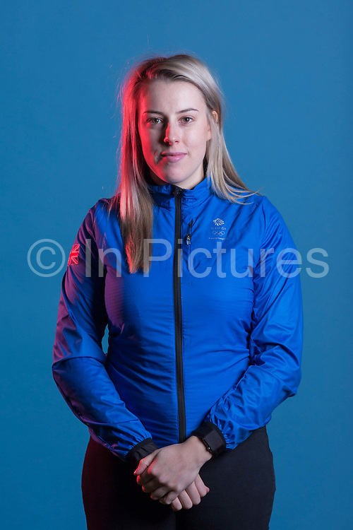 Katie Summerhayes during GB Park & Pipe Winter Olympic official Adidas kitting out day on 24th January 2018 in Stockport, United Kingdom.