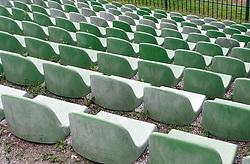 Stadium in Bezigrad of architect Joze Plecnik, on August 15, 2005, Bezigrad stadium, Ljubljana, Slovenia.  (Photo by Vid Ponikvar / Sportida)