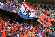Netherlands fans ahead of the UEFA Nations League semi-final match between Netherlands and England at Estadio D. Afonso Henriques, Guimaraes, Portugal on 6 June 2019.
