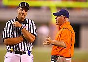 Virginia lost their home opener to William & Mary 26-14 at Scott Stadium in Charlottesville, VA. Photo/Andrew Shurtleff