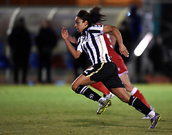 Notts County Ladies FC's Jess Clarke - Mandatory by-line: Paul Knight/JMP - Mobile: 07966 386802 - 23/02/2016 -  FOOTBALL - Stoke Gifford Stadium - Bristol, England -  Bristol City Women v Notts County Ladies - Pre-season friendly