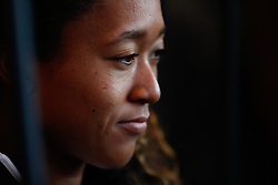 May 3, 2019 - Madrid, MADRID, SPAIN - Naomi Osaka of Japan during the Mutua Madrid Open 2019 (ATP Masters 1000 and WTA Premier) tenis tournament at Caja Magica in Madrid, Spain, on April 28, 2019. (Credit Image: © AFP7 via ZUMA Wire)