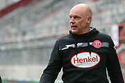 Fussball: 2. Bundesliga, FC St. Pauli - Fortuna Düsseldorf 0:3, Hamburg, 20.12.2020<br /> Trainer Uwe Rösler (Fortuna)<br /> © Torsten Helmke