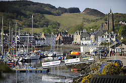 The Clyde Cruising Club's Scottish Series held on Loch Fyne by Tarbert. <br /> <br /> Tarbert Harbour, Branding