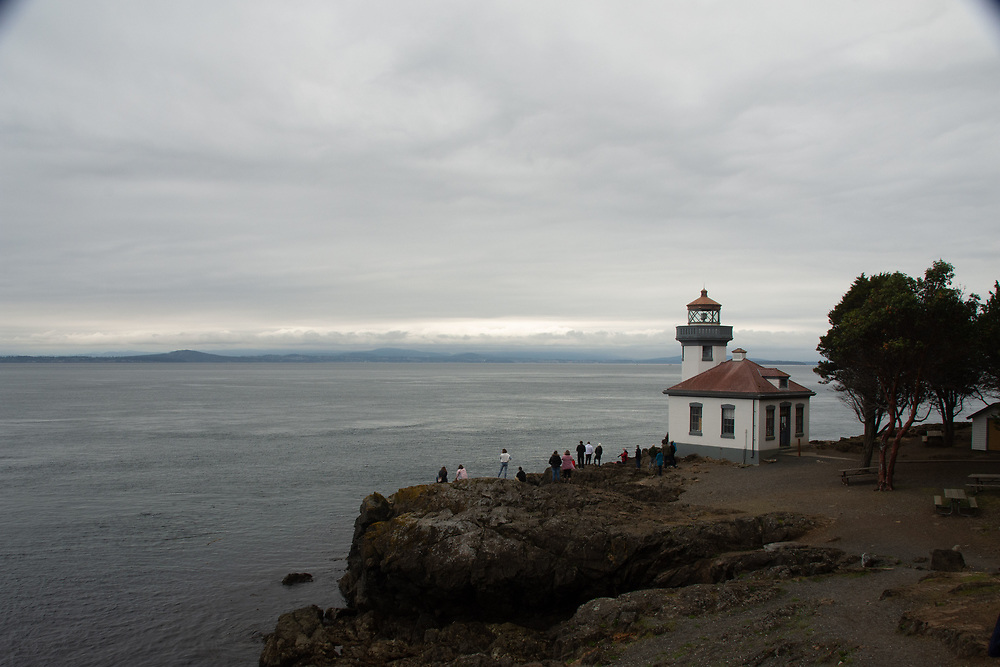 Lime Kiln Light House, San Juan Island, Washington, US