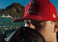 Pitcher Andrew Bailey poses during the Angels' Photo Day at Spring Training in Tempe, AZ on Tuesday, February 21, 2017. (Photo by Kevin Sullivan, Orange County Register/SCNG)