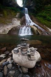 Racehorse Falls, Mt. Baker-Snoqualmie National Forest, Washington, US