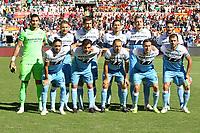 Formazione Lazio<br />Roma 28-09-2018 Stadio Olimpico Football Calcio Serie A 2018/2019 AS Roma - Lazio Foto Luca Pagliaricci / Insidefoto