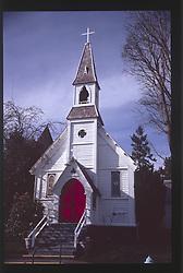 Church, Port Townsend, Olympic Peninsula, Washington, US