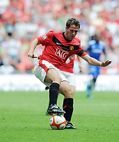 Fotball<br /> England<br /> Foto: Fotosports/Digitalsport<br /> NORWAY ONLY<br /> <br /> Wembley Stadium Community Shield  Manchester United v Chelsea (2-2) 09/08/09 Chelsea win after penalty shoot out  4 - 1 <br /> Michael Owen (Manchester United)