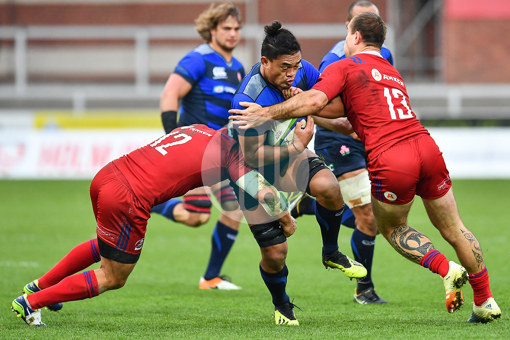 Hendrik Tui of Japan in action <br /> <br /> Photographer Craig Thomas<br /> <br /> Japan v Russia<br /> <br /> World Copyright ©  2018 Replay images. All rights reserved. 15 Foundry Road, Risca, Newport, NP11 6AL - Tel: +44 (0) 7557115724 - craig@replayimages.co.uk - www.replayimages.co.uk