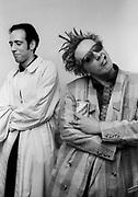 Big Audio Dynamite Medicine Show Video Shoot with John Lydon and Mick Jones London 1986
