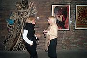 DETTA GUERRINI; BEVERLEY POWELL, ' Now's the time' Street art exhibition. Black Rat projects. Shoreditch. 20 April 2010