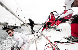 Onboard with Gilmour vs Holmberg - Stena Match Cup Sweden 2010, Marstrand-Sweden. World Match Racing Tour. photo: Loris von Siebenthal - myimage