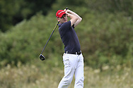 Gavin McKenna (Donaghadee) during the second round at the Connacht Mid Amateur Open, Roscommon Golf Club, Roscommon, Roscommon, Ireland. 17/08/2019.<br /> Picture Fran Caffrey / Golffile.ie<br /> <br /> All photo usage must carry mandatory copyright credit (© Golffile   Fran Caffrey)