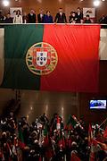 Portuguese President Anibal Cavaco Silva won the  Re-Election for a second term mandate, Lisbon, Portugal.