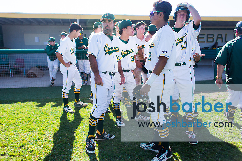 Edison head coach Cameron Chinn at Edison High School on Tuesday, May 23, 2017 in Huntington Beach, California. (Photo/Josh Barber)