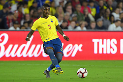 March 21, 2019 - Orlando, Florida, USA - Ecuador defender Robert Arboleda (3) during an international friendly between the US and Ecuador at Orlando City Stadium on March 21, 2019 in Orlando, Florida. .The US won the game 1-0...©2019 Scott A. Miller. (Credit Image: © Scott A. Miller/ZUMA Wire)